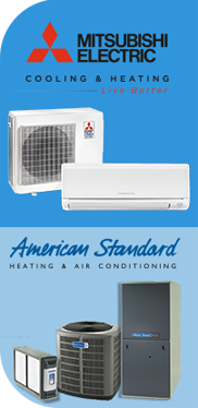 Mitsubishi Electric Cooling and Heating - Live Better. American Standard Heating and Air Conditioning.